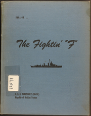 Page 1, 1945 Edition, Farenholt (DD 491) - Naval Cruise Book online yearbook collection