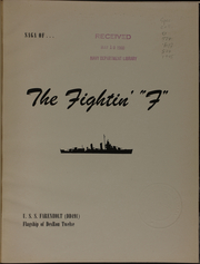 Page 5, 1945 Edition, Farenholt (DD 491) - Naval Cruise Book online yearbook collection
