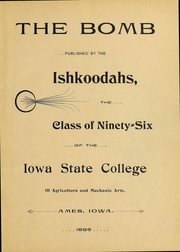 Page 4, 1896 Edition, Iowa State University - Bomb Yearbook (Ames, IA) online yearbook collection