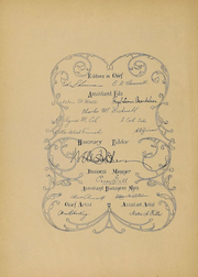 Page 5, 1896 Edition, Iowa State University - Bomb Yearbook (Ames, IA) online yearbook collection