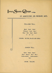 Page 7, 1896 Edition, Iowa State University - Bomb Yearbook (Ames, IA) online yearbook collection