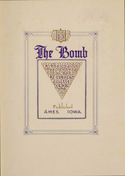 Page 6, 1915 Edition, Iowa State University - Bomb Yearbook (Ames, IA) online yearbook collection