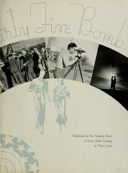 Page 5, 1935 Edition, Iowa State University - Bomb Yearbook (Ames, IA) online yearbook collection