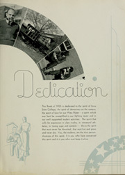 Page 7, 1935 Edition, Iowa State University - Bomb Yearbook (Ames, IA) online yearbook collection