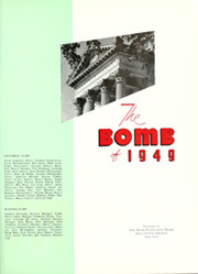 Page 5, 1949 Edition, Iowa State University - Bomb Yearbook (Ames, IA) online yearbook collection