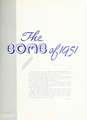 Page 9, 1951 Edition, Iowa State University - Bomb Yearbook (Ames, IA) online yearbook collection