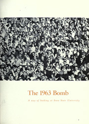 Page 7, 1963 Edition, Iowa State University - Bomb Yearbook (Ames, IA) online yearbook collection