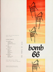 Page 5, 1966 Edition, Iowa State University - Bomb Yearbook (Ames, IA) online yearbook collection