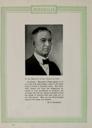 Page 14, 1926 Edition, Marshall University - Chief Justice Yearbook (Huntington, WV) online yearbook collection