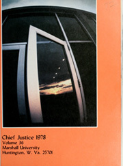 Page 5, 1978 Edition, Marshall University - Chief Justice Yearbook (Huntington, WV) online yearbook collection