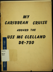 1953 Edition, McClelland (DE 750) - Naval Cruise Book