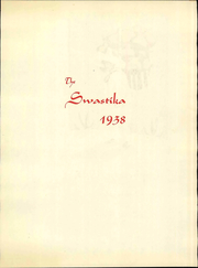 Page 5, 1938 Edition, New Mexico State University - Swastika Yearbook (Las Cruces, NM) online yearbook collection