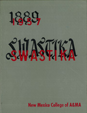 Page 1, 1957 Edition, New Mexico State University - Swastika Yearbook (Las Cruces, NM) online yearbook collection