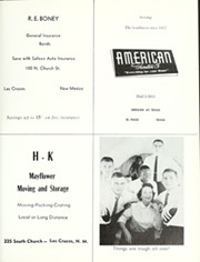 Page 273, 1957 Edition, New Mexico State University - Swastika Yearbook (Las Cruces, NM) online yearbook collection