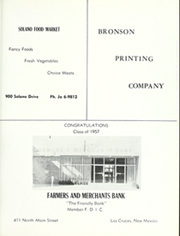 Page 283, 1957 Edition, New Mexico State University - Swastika Yearbook (Las Cruces, NM) online yearbook collection