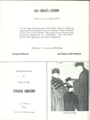 Page 286, 1957 Edition, New Mexico State University - Swastika Yearbook (Las Cruces, NM) online yearbook collection
