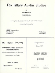 Page 289, 1957 Edition, New Mexico State University - Swastika Yearbook (Las Cruces, NM) online yearbook collection