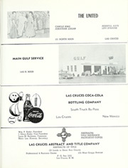Page 305, 1957 Edition, New Mexico State University - Swastika Yearbook (Las Cruces, NM) online yearbook collection