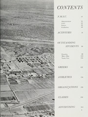 Page 7, 1959 Edition, New Mexico State University - Swastika Yearbook (Las Cruces, NM) online yearbook collection