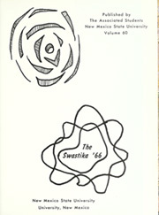 Page 5, 1966 Edition, New Mexico State University - Swastika Yearbook (Las Cruces, NM) online yearbook collection