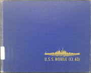 Page 1, 1946 Edition, Mobile (CL 63) - Naval Cruise Book online yearbook collection