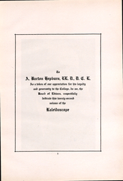 Page 5, 1917 Edition, Middlebury College - Kaleidoscope Yearbook (Middlebury, VT) online yearbook collection