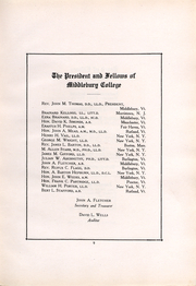 Page 9, 1917 Edition, Middlebury College - Kaleidoscope Yearbook (Middlebury, VT) online yearbook collection