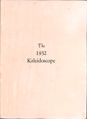 Page 4, 1932 Edition, Middlebury College - Kaleidoscope Yearbook (Middlebury, VT) online yearbook collection