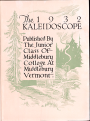 Page 6, 1932 Edition, Middlebury College - Kaleidoscope Yearbook (Middlebury, VT) online yearbook collection