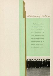 Page 8, 1936 Edition, Middlebury College - Kaleidoscope Yearbook (Middlebury, VT) online yearbook collection