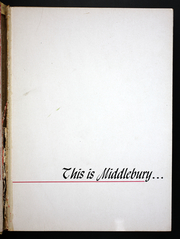 Page 5, 1951 Edition, Middlebury College - Kaleidoscope Yearbook (Middlebury, VT) online yearbook collection