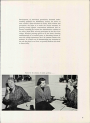 Page 11, 1958 Edition, Middlebury College - Kaleidoscope Yearbook (Middlebury, VT) online yearbook collection