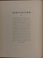 Page 10, 1946 Edition, Oklahoma City (CL 91) - Naval Cruise Book online yearbook collection