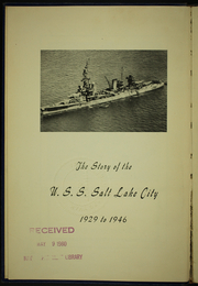 Page 6, 1946 Edition, Salt Lake City (CA 25) - Naval Cruise Book online yearbook collection