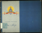 1945 Edition, San Francisco (CA 38) - Naval Cruise Book