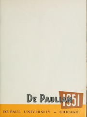 Page 5, 1951 Edition, DePaul University - Depaulian Yearbook (Chicago, IL) online yearbook collection