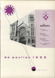 Page 7, 1955 Edition, DePaul University - Depaulian Yearbook (Chicago, IL) online yearbook collection