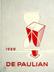 1959 Edition, DePaul University - Depaulian Yearbook (Chicago, IL)