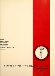 Page 5, 1961 Edition, DePaul University - Depaulian Yearbook (Chicago, IL) online yearbook collection