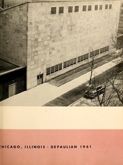 Page 7, 1961 Edition, DePaul University - Depaulian Yearbook (Chicago, IL) online yearbook collection