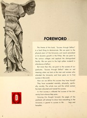 Page 8, 1961 Edition, DePaul University - Depaulian Yearbook (Chicago, IL) online yearbook collection