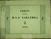 1936 Edition, Saratoga (CV 3) - Naval Cruise Book