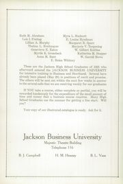 Page 10, 1922 Edition, Jackson High School - Reflector Yearbook (Jackson, MI) online yearbook collection