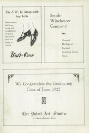 Page 13, 1922 Edition, Jackson High School - Reflector Yearbook (Jackson, MI) online yearbook collection