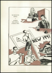 Page 8, 1941 Edition, Jackson High School - Reflector Yearbook (Jackson, MI) online yearbook collection