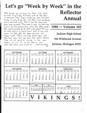 Page 5, 1988 Edition, Jackson High School - Reflector Yearbook (Jackson, MI) online yearbook collection