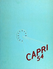 1954 Edition, Mumford High School - Capri Yearbook (Detroit, MI)