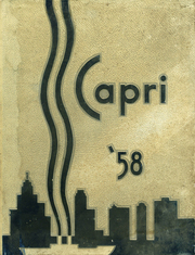 1958 Edition, Mumford High School - Capri Yearbook (Detroit, MI)
