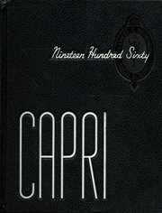 1960 Edition, Mumford High School - Capri Yearbook (Detroit, MI)