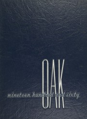 1960 Edition, Dondero High School - Oak Yearbook (Royal Oak, MI)